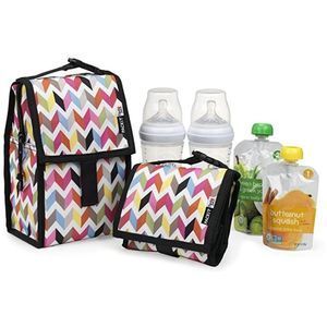 PACKIT Freezable Baby Bottle Bag with Zip Closure